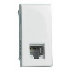 VELA BIANCA - CONNETTORE RJ11 (4/6) K10 LEGRAND