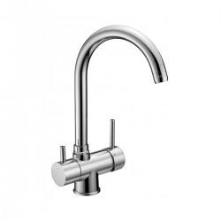 Miscelatore lavello terz 39 acqua cucina mix 2610cr gaboli - Miscelatore cucina perde acqua ...