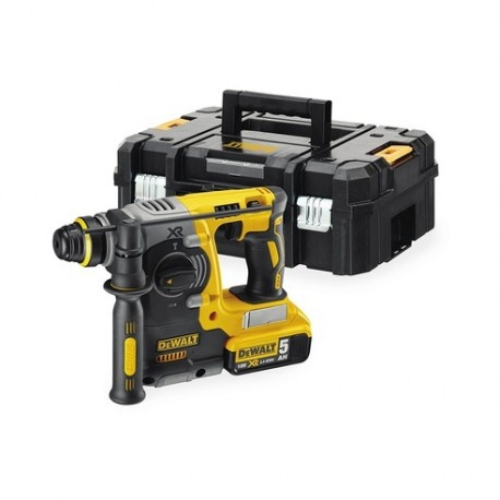 TASSELLATORE SDS PLUS 18V XR LITIO 5.0AH BRUSHLESS TSTAK DEWALT